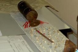 système de l'obus à balles