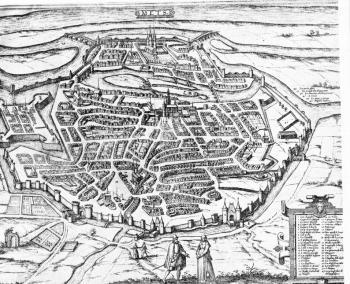 Metz au XVIe siècle  gravure anonyme